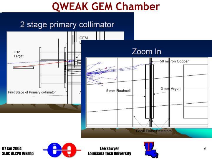 QWEAK GEM Chamber