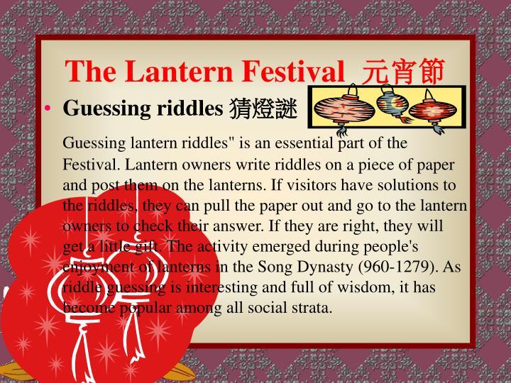 The Lantern Festival