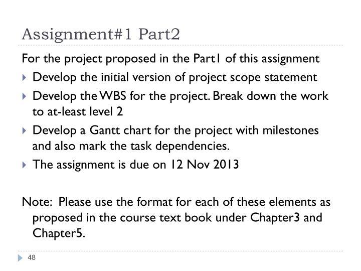 Assignment#1 Part2