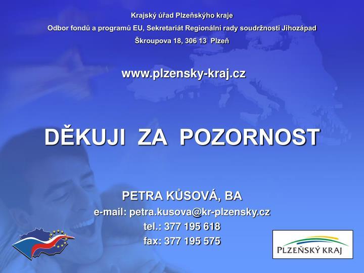 Krajský úřad Plzeňskýho kraje
