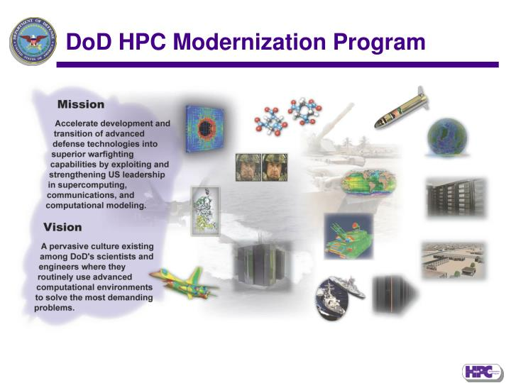 DoD HPC Modernization Program