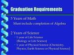 graduation requirements2