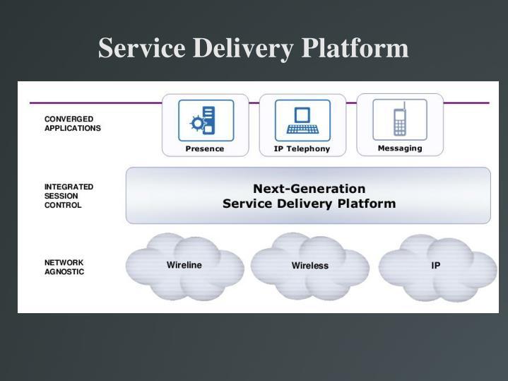 Service Delivery Platform