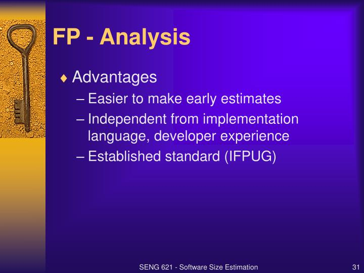 FP - Analysis