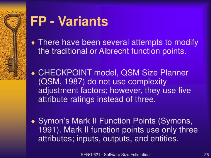 FP - Variants