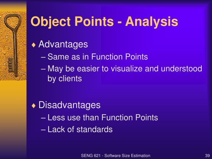Object Points - Analysis