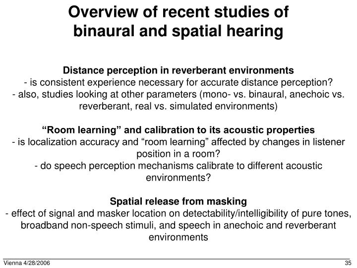 Distance perception in reverberant environments