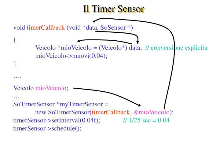 Il Timer Sensor