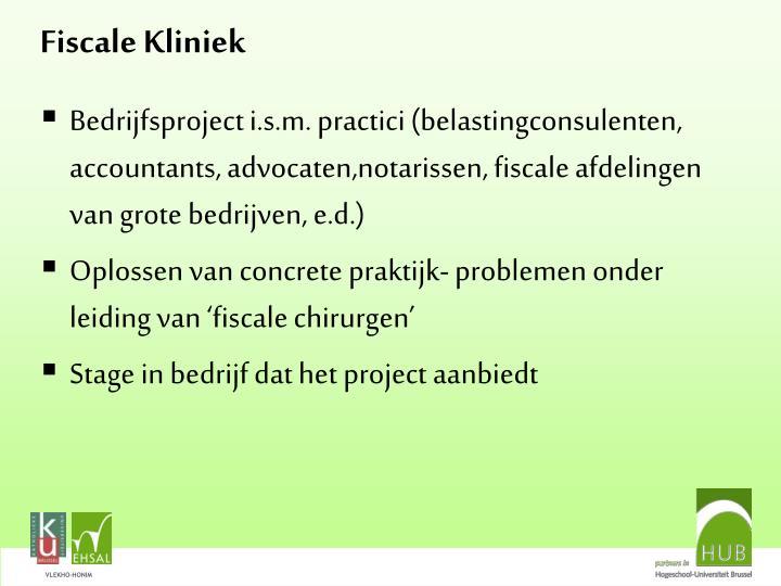 Fiscale Kliniek