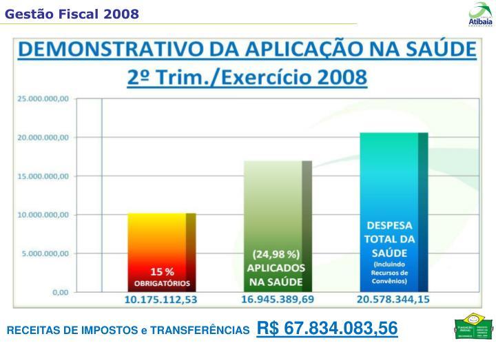 RECEITAS DE IMPOSTOS e TRANSFERÊNCIAS