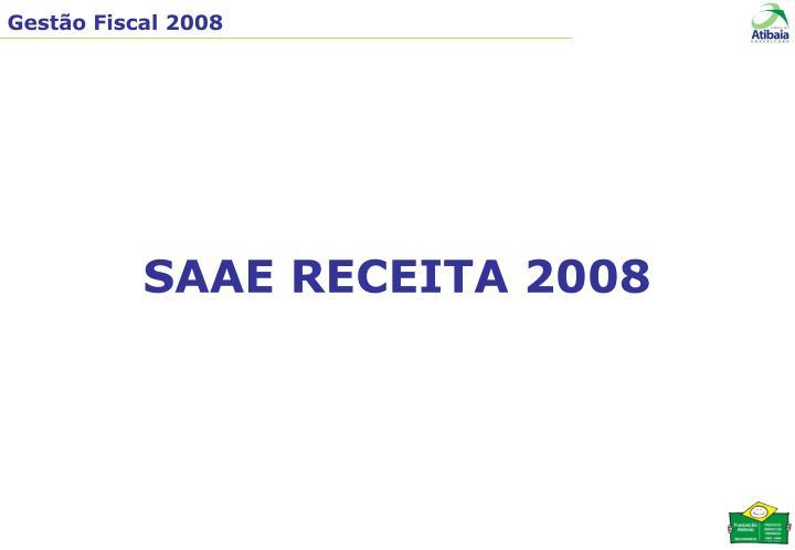 SAAE RECEITA 2008
