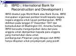2 ibrd international bank for reconstruction and development