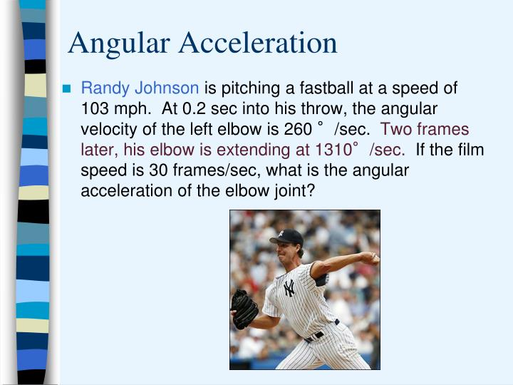 Angular Acceleration
