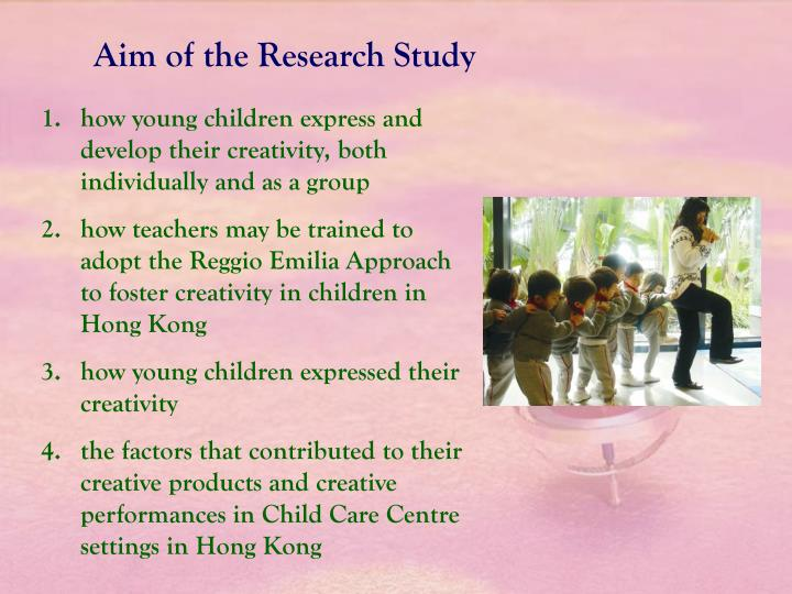 Aim of the Research Study