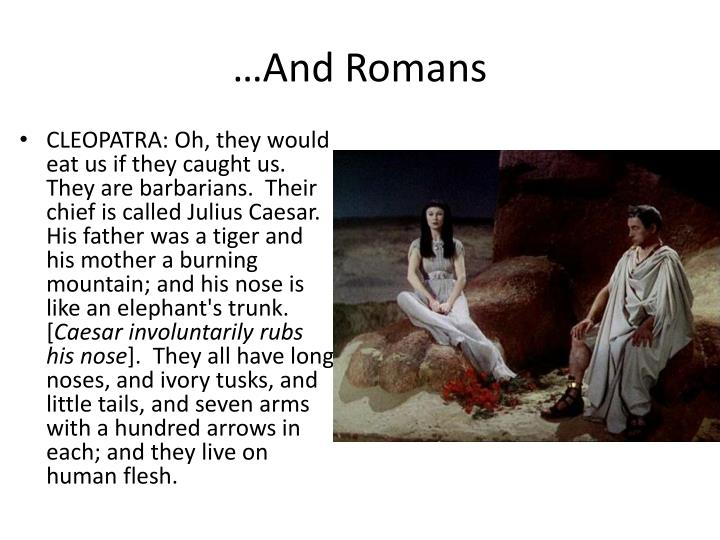 …And Romans