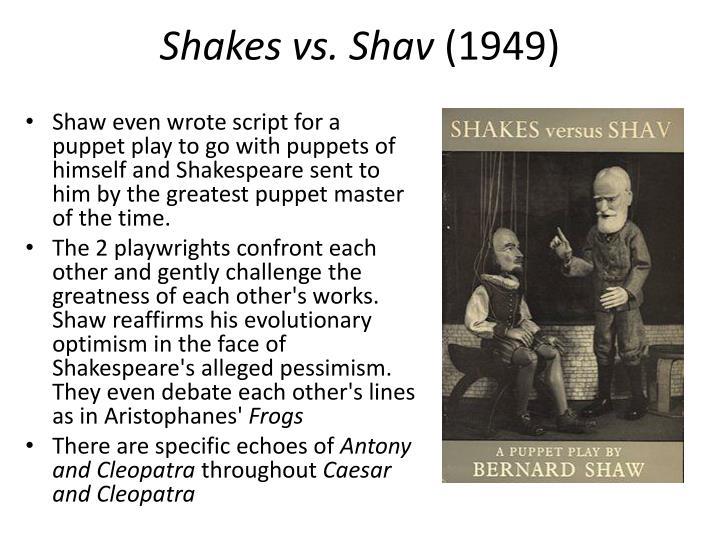 Shakes vs. Shav