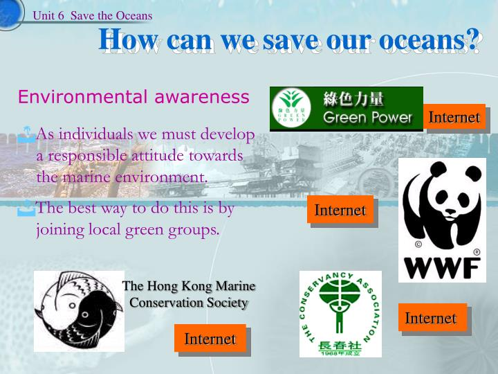The Hong Kong Marine Conservation Society