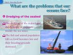 what are the problems that our oceans face15