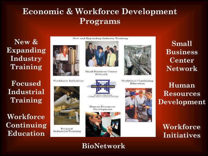 Economic & Workforce Development Programs