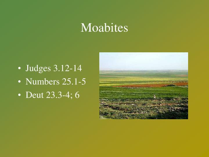 Moabites