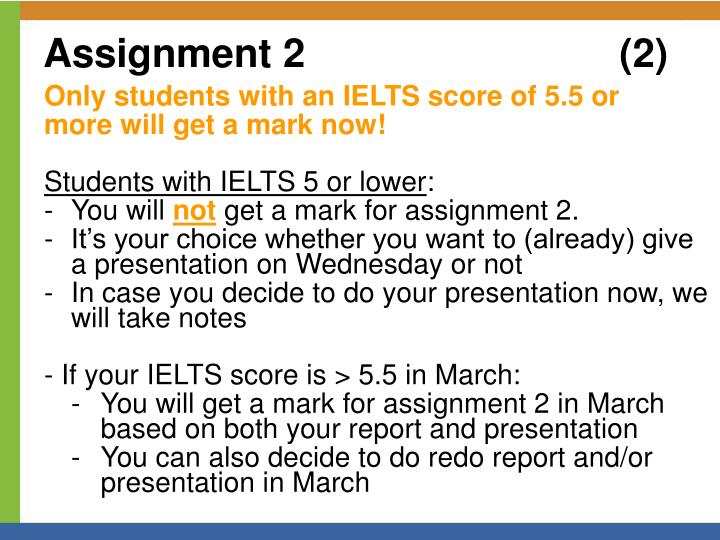 Assignment 2					(2)