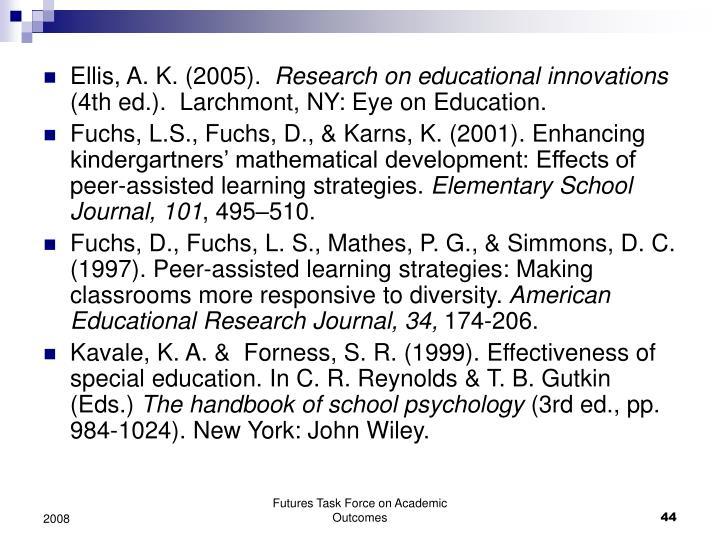 Ellis, A. K. (2005).