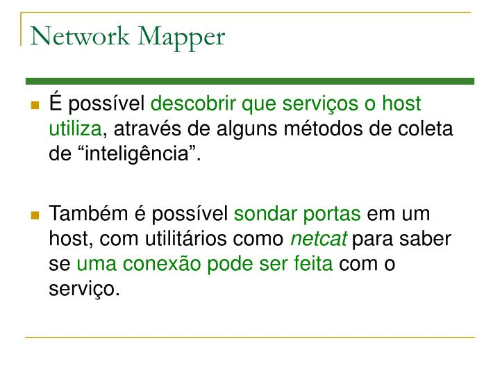 Network Mapper