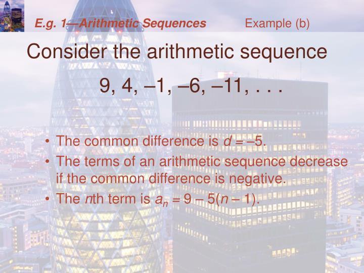 Example (b)