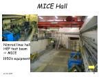 mice hall
