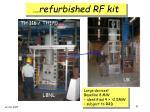 refurbished rf kit