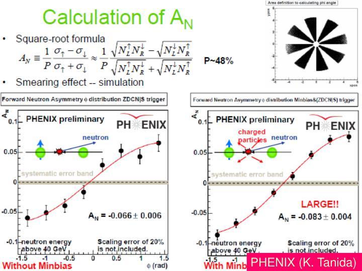 PHENIX (K. Tanida)
