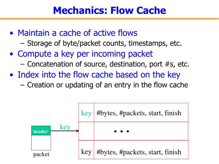 Mechanics: Flow Cache