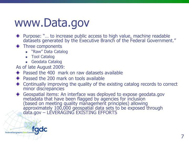 www.Data.gov