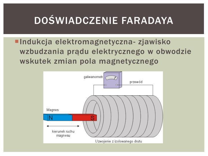 Doświadczenie Faradaya