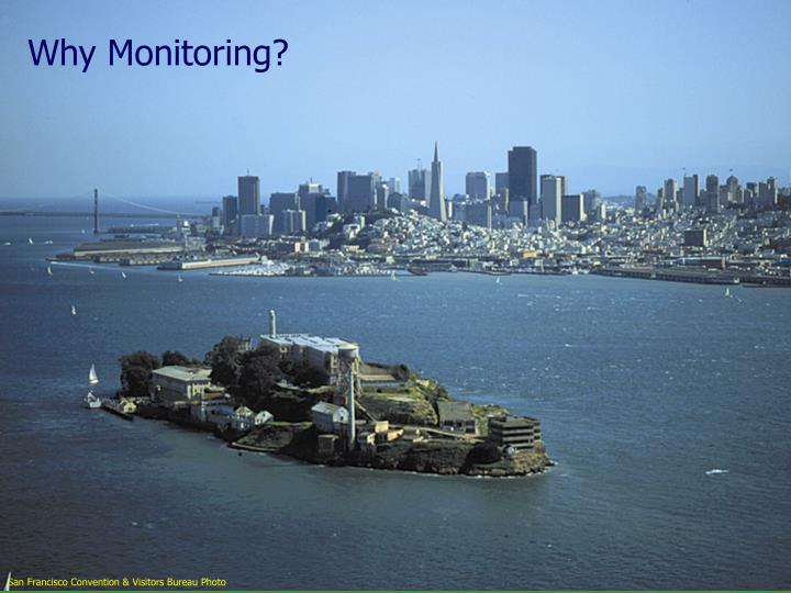 Why Monitoring?