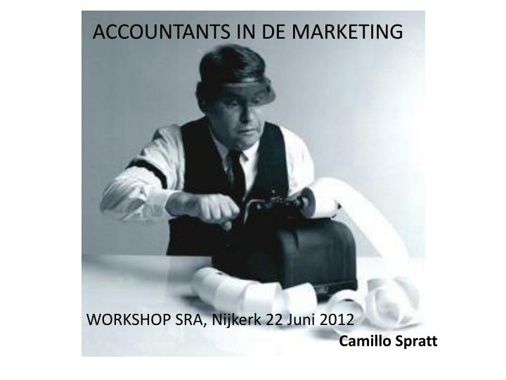 Accountants in de marketing