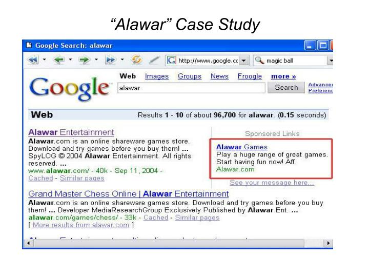 """Alawar"" Case Study"