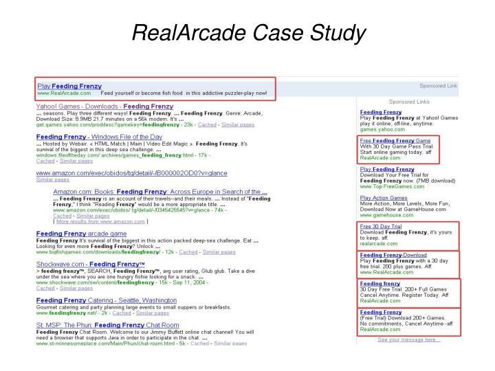 RealArcade Case Study