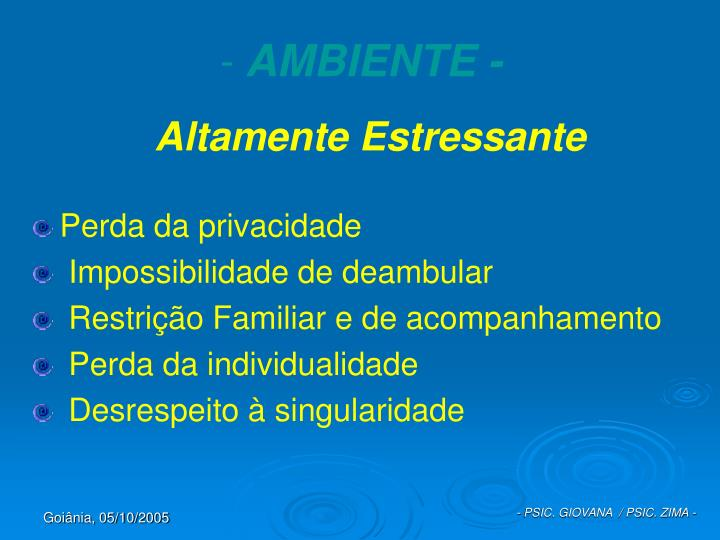 AMBIENTE -