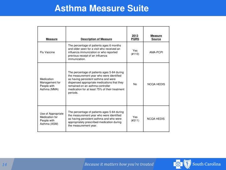 Asthma Measure Suite