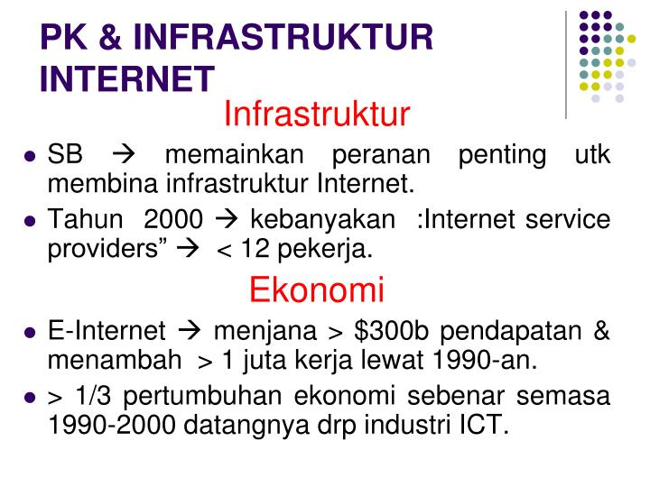 PK & INFRASTRUKTUR INTERNET