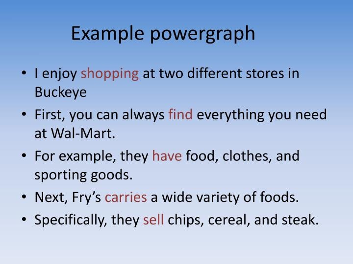 Example powergraph