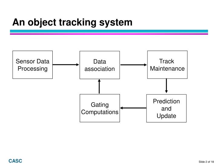 An object tracking system