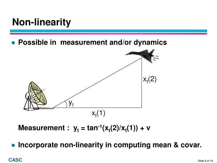 Non-linearity