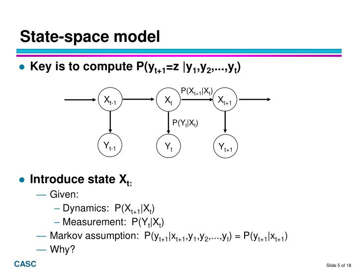 State-space model