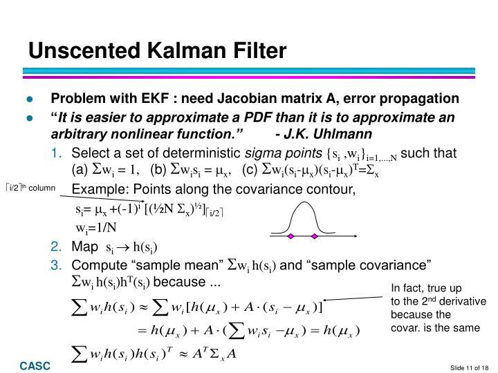 Unscented Kalman Filter