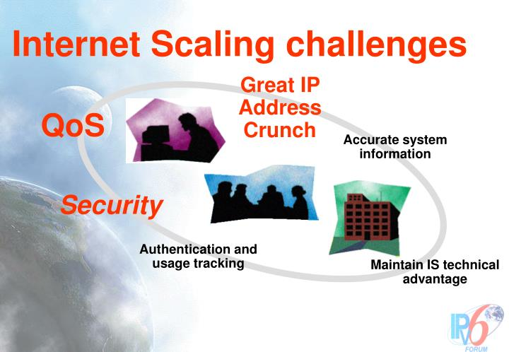 Internet Scaling challenges