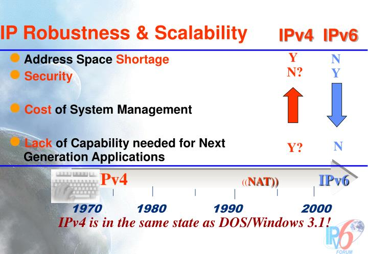 IP Robustness & Scalability