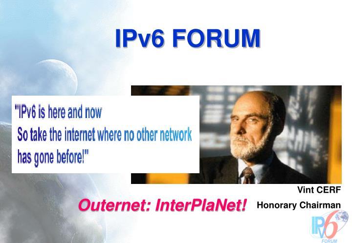 IPv6 FORUM