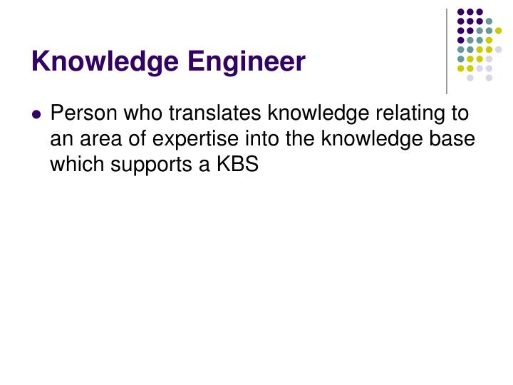 Knowledge Engineer